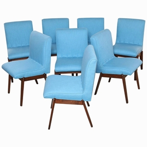 Set of 8 Stanley Young Dining Chairs