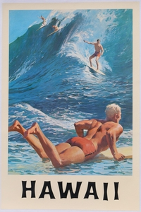Surf Posters 1940s-1990s