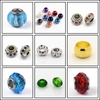 Large hole Beads many colors and designs