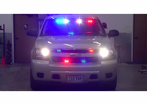 2007 Chevrolet Tahoe Tan Slicktop Police Package