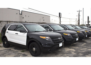 2014 Ford Police Interceptor Utility - For Sale - 71,000 miles