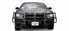 Go Rhino LR Push Bumper - 2011-2014 Dodge Charger - ION - 5076-2L61