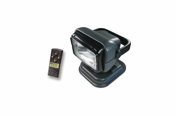 Golight Radio Ray Wireless Remote Searchlight - Black - 7951