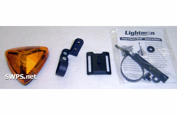 Lightman Basic Bike Strobe Kit Amber 90300