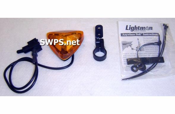 Lightman Commuter Bike Strobe Kit Amber 95300