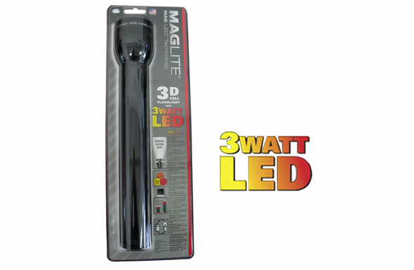 Mag-Lite 3 D Cell LED Flashlight - ST3D016