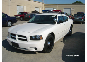 Medina County 2006 Dodge Charger White Police From