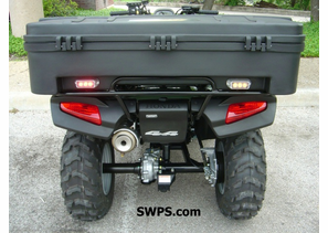 Park Police Honda ATV - Rear View