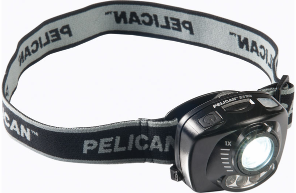 Pelican 2720 Motion Activated LED Headlight - Black