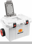 Pelican Tailgater Cooler with Wheels - 55 Quart - White - 55Q-White