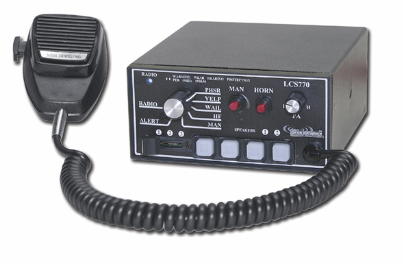 Signal Vehicle Products Full Feature Siren With Light Control - LCS770