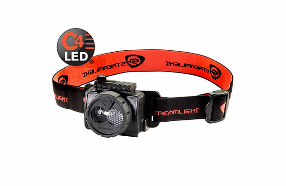Streamlight Double Clutch Rechargeable USB LED Headlamp - Black - 61601