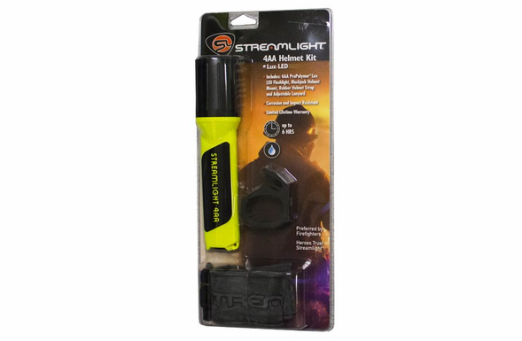 Streamlight Propolymer 4AA Luxeon Helmet Lighting Kit - 68270