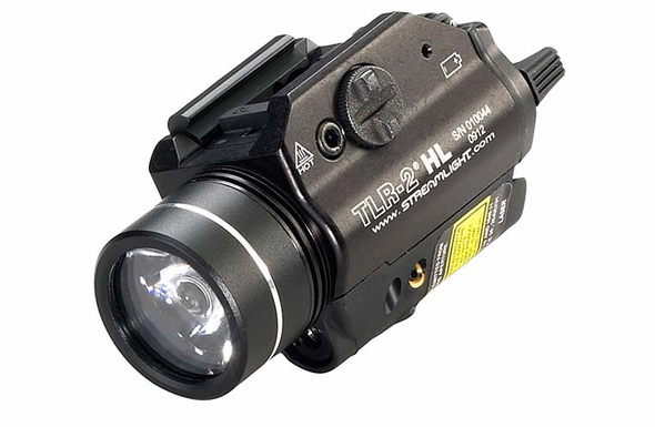 Streamlight TLR-2 HL LED Tactical Gun-Mounted Light with Laser - 69261