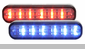 Whelen ION DUO Linear-LED Lighthead Series - 2 LED Colors in 1 Lighthead