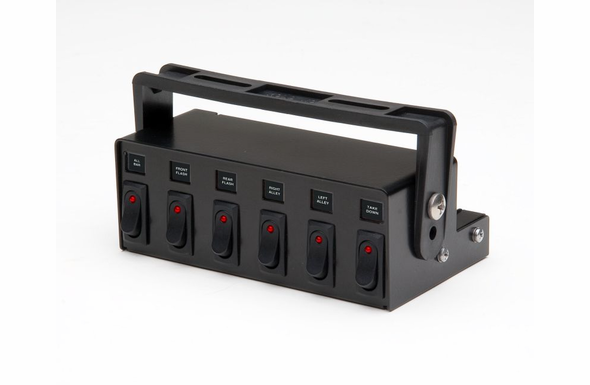Whelen PCC6w 6 Switch Box