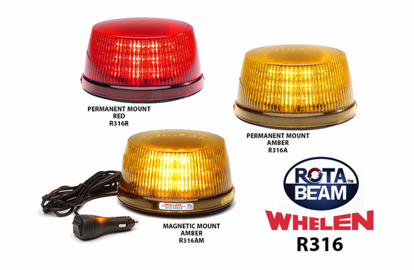 Whelen R316 ROTA-BEAM Super-LED Beacon Series