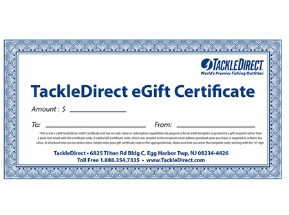$1500 eGift Certificates - Online Use Only
