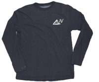 36North Marlin Stamp Pro-Performance LS Shirt Charcoal