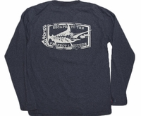 36North Marlin Stamp Pro-Performance LS Shirts