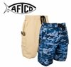 50% off Aftco M07 Waterman Boardshorts in Khaki w/ Aftco M07 Waterman Blue Camo Boardshorts Purchase