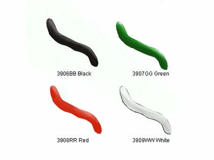"9er's 390-6 41"" Tube and Worm All Tube Lure"