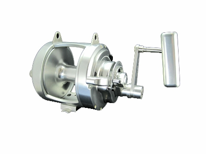Accurate ATD-80 Platinum Twin Drag Reel