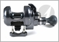 Accurate DX2-400 Boss Dauntless Two Speed Reel - Gunmetal