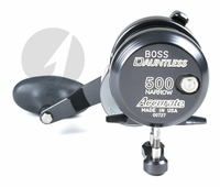 Accurate DX2-500N Boss Dauntless Two Speed Reel - Gunmetal