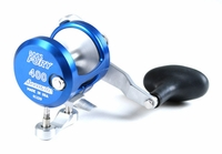 Accurate FX-400X Fury Single Speed Reel - Marine Blue
