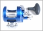 Accurate FX2-500 Boss Fury 2-Speed Reel - Marine Blue