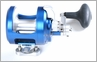 Accurate FX2-600 Boss Fury 2-Speed Reel - Marine Blue
