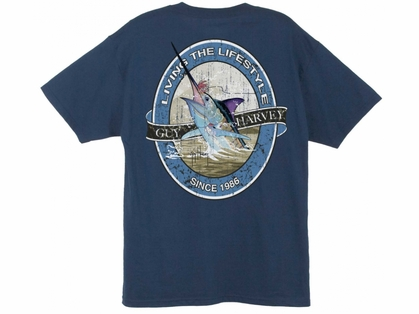 Aftco Guy Harvey Harvey Label T-Shirt