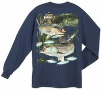 Aftco Guy Harvey Linesider LS T-Shirt