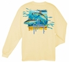Aftco Guy Harvey Tuna Splash LS T-Shirt