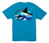 Aftco Guy Harvey Skipping School SS T-Shirt