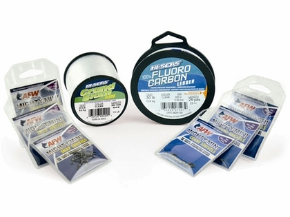 AFW Hi-Seas TK00005 Inshore Clear Mono & Fluoro Kit Medium Duty