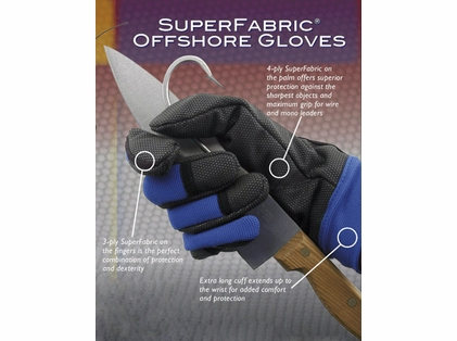 Hi-Seas - SeaGrip SuperFabric Offshore Glove
