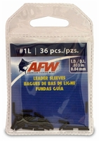 American Fishing Wire Single Barrel Leader Sleeves