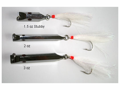 AOK Tackle T-Hex Metal Lures