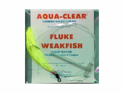 Aqua-Clear FW-4AC Flounder/Weakfish Single Leader Rig