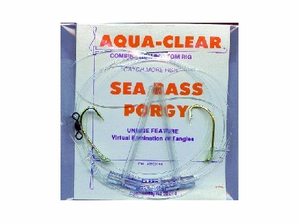 Aqua-Clear SP-1 Sea Bass/Porgy High/Low Rig