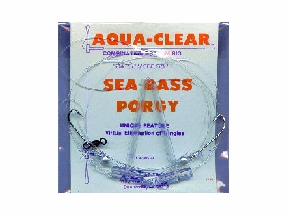 Aqua-Clear SP-26P Sea Bass/Porgy High/Low Rig