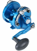Avet HX 4.2 Single Speed Lever Drag Casting Reel Blue