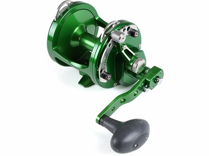 Avet HXW 5/2 Two-Speed Lever Drag Casting Reel Green