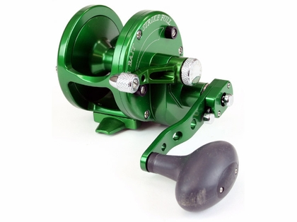 Avet JX 6/3 2-Speed Lever Drag Casting Reel Forest Green