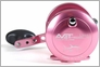 Avet LX 4.6 Single Speed Lever Drag Casting Reel Pink