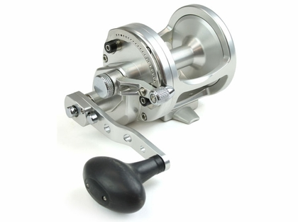 Avet LX 6.3 MC Raptor 2-Speed Lever Drag Casting Reel Left-Hand Silver