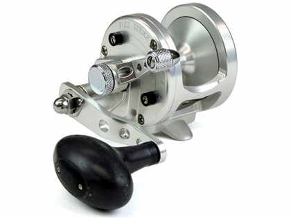 Avet MXJ 5.8 Single Speed Lever Drag Casting Reel Left-Hand Silver