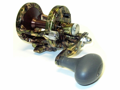 Avet MXL 5.8 Single Speed Lever Drag Casting Reel Green Camo
